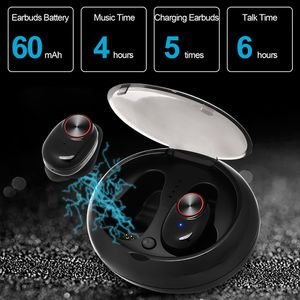 True Wireless Earbuds TWS Bluetooth 5.0 Headphones, V5 Waterproof In-Ear 26h Playtime Stereo Headset Auto Pairing Noise Cancelling Earphones for Sale in Bay Lake, FL