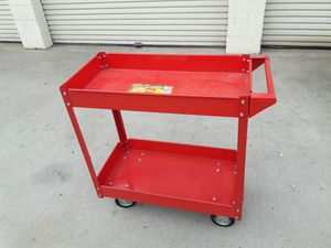 OLYMPIA metal tools box like new.long 30x16x32 excelent for tools. for Sale in Santa Ana, CA