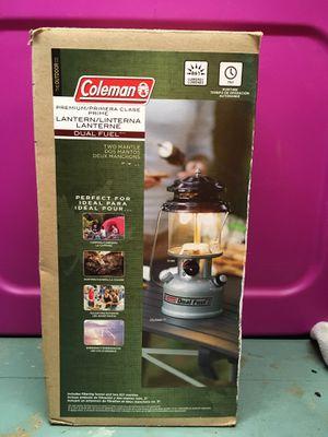 Coleman dual fuel lantern for Sale in Bellingham, WA