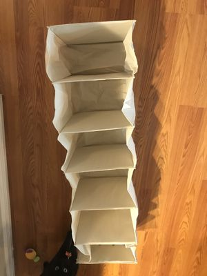 Hanging closet organizer for Sale in Littleton, CO