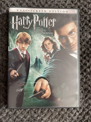 Harry Potter & Order of the Phoenix DVD for Sale in Milpitas, CA