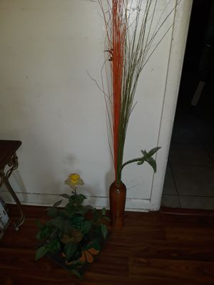 Decorative fake plants and table decor for Sale in Inkster, MI