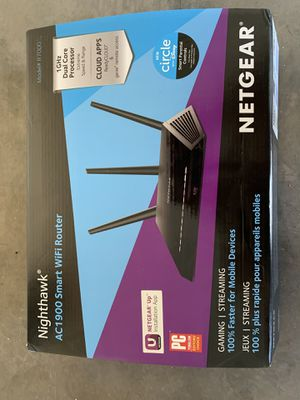 Nighthawk AC1900 Smart WiFi Router for Sale in El Mirage, AZ