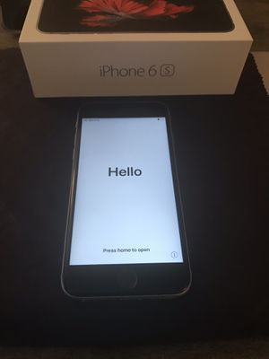 iPhone 6s AT&T Unlocked for Sale in Alexandria, VA