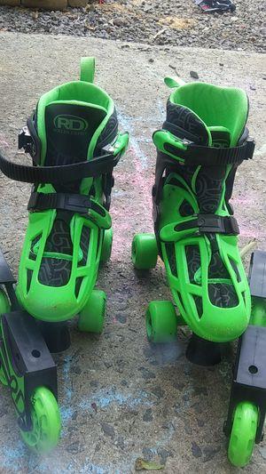 Roller derby kids skates size 3-6 for Sale in Charlotte, NC