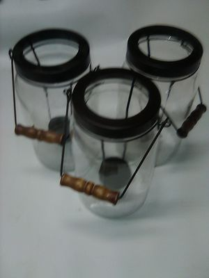 Mason jar candle holders for Sale in Phillips Ranch, CA