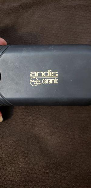 Hair straightener Ceramic Andis multi heat for Sale in Sanger, CA