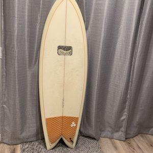 """5'7"""" Channel Islands Evenkeel Twin fin for Sale in Oceanside, CA"""