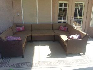 High-End Outdoor Sectional Patio Furniture Set Seats 8-10! for Sale in Sun City, AZ