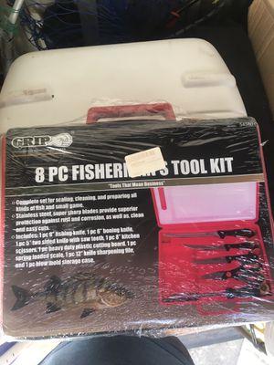 8 Piece Fillet Knife Kit for Sale in San Jose, CA
