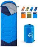 oaskys Camping Sleeping Bag - 3 Season Warm & Cool Weather - Summer, Spring, Fall, Lightweight, Waterproof for Sale in Ontario, CA