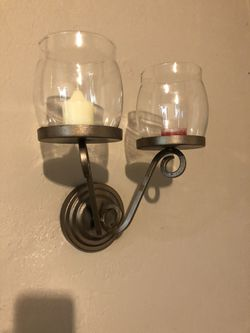 Candle wall decor, wall sconces for candlelight for Sale in Fort Myers,  FL