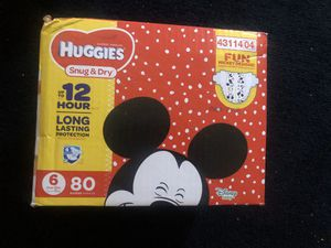 Huggies size 6 for Sale in Baldwin Park, CA