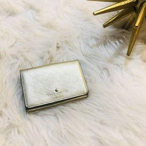 Kate Spade Metallic Gold Wallet for Sale in Alexandria, VA