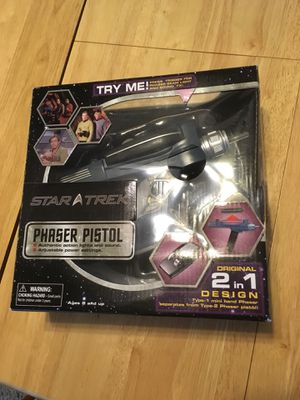 Star Trek Phaser Pistol Collectible by Art Asylum (Diamond Select Toys) for Sale in Foster City, CA