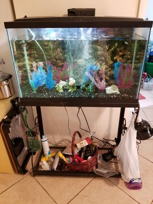Fish tank and stand for Sale in Stuart, FL
