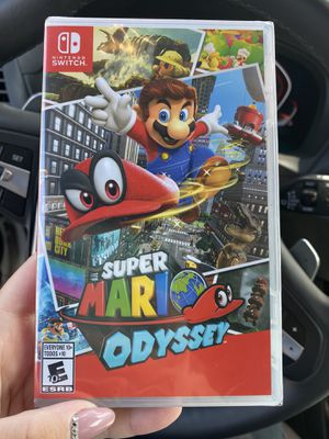 Super Mario odyssey Nintendo switch for Sale in Upland, CA