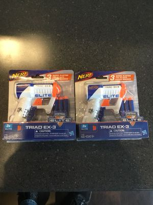 Nerf Gun with darts 2 pack Brand New! for Sale in Brentwood, MD
