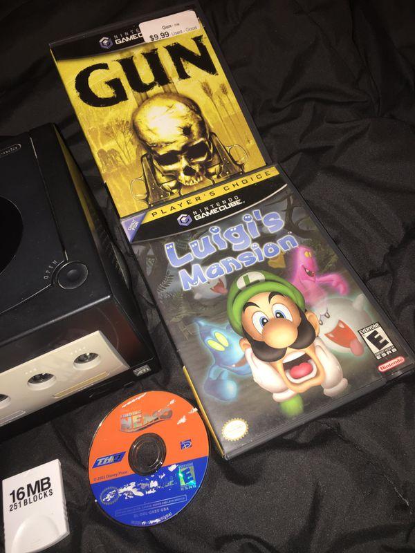 GameCube Luigi's Mansion