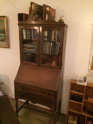 Antique Secretary Desk h for Sale in Littleton, CO