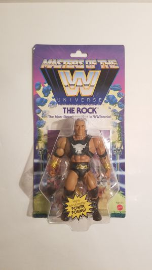 WWE Masters of the Universe The Rock for Sale in Spring, TX