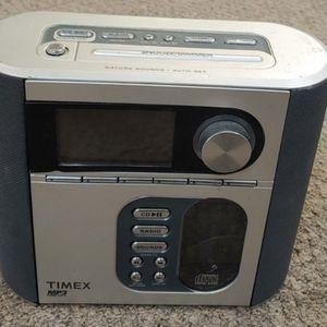 Timex MP3 AM/FM Radio, CD Player for Sale in Burlington, NC