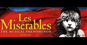 Les Miserables -2 Tickets Thursday Night for Sale in Tampa, FL