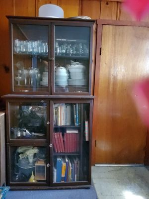 China cabinet antique for Sale in San Leandro, CA