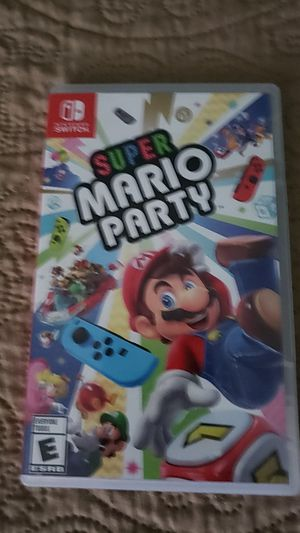 Super mario party nintendo switch for Sale in Los Angeles, CA
