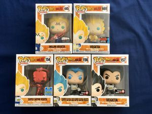 Funko Pop DragonBall Z Vegeta Bundle for Sale in Cypress, CA