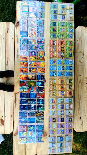 My Collection of Pokemon Trading Cards.--Buying Hole set only. No Buying singles. for Sale in Tolland, CT