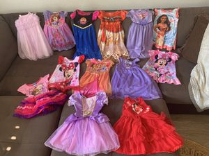 HUGE 2t Disney Princess Dress lot!!! for Sale in Littleton, CO