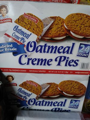 Little Debbie - Oat meal creme pies 24 count box for Sale in Las Vegas, NV