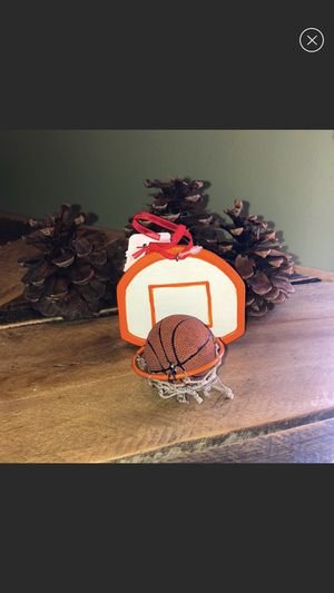 Basketball hoop Christmas Holiday ornament for Sale in Rocky Point, NY