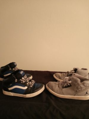 KIDS JORDAN/VANS SHOE BUNDLE for Sale in Brownsville, TX