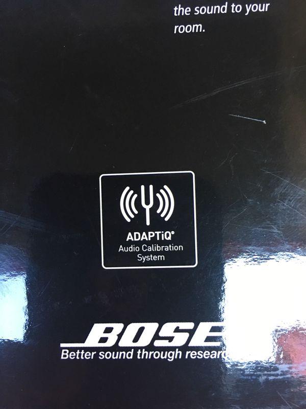 Bose Audio calibrating system..