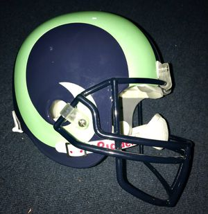 Rams Full Size Replica Helmet green & blue for Sale in Los Angeles, CA
