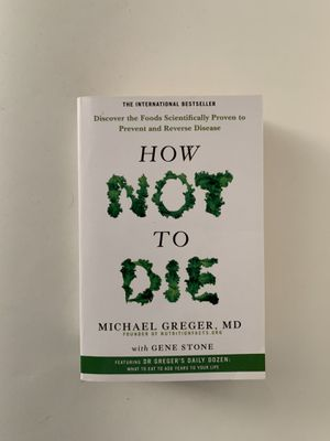 How Not to Die by Michael Greger, MD (softcover) for Sale in Lakewood, CA