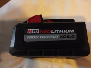Milwaukee battery 6.0 New for Sale in Steger, IL