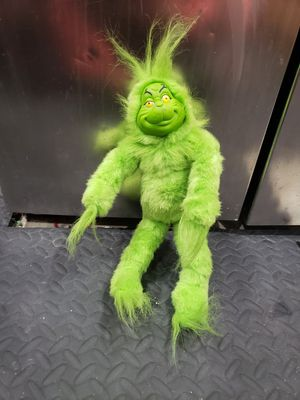 2000 Re-play Sing-a-long vintage singing Grinch toy for Sale in Rogersville, MO