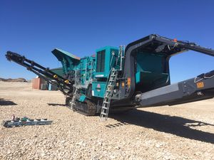 2016 PowerScreen TrakPactor 500 for Sale in Georgetown, TX
