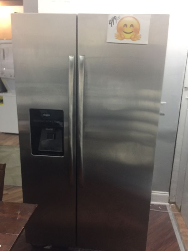 Refrigerator side by side stainless steel warranty