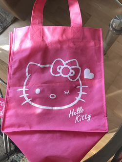 Hello Kitty Pink Shopping 🛍 Bag for Sale in Ontario,  CA