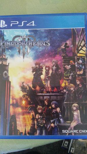 Kingdom hearts 3 for Sale in Largo, FL