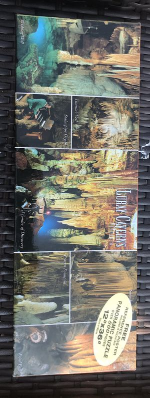 Panoramic Jigsaw Puzzle Virginia Luray Caverns - Giant's Hall and More! for Sale in Mableton, GA