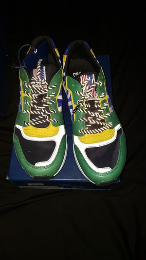 Ralph Lauren polo hi tech train 100 sneaker green for Sale for sale  Freehold, NJ