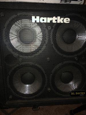 Hartke 400 W bass amplifier cabinet for Sale in Las Vegas, NV