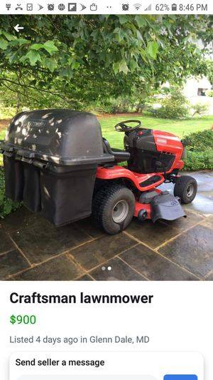 ISO NEW USED PARTS LAWN TRACTOR for Sale in Mechanicsville, MD
