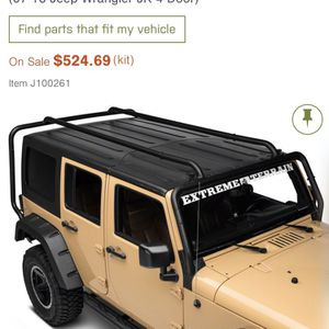 Rugged Ridge Sherpa JEEP jK Roof Rack Brand new L@@K great Christmas Gift for Sale in Chandler, AZ