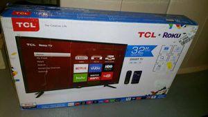 Brand New Open Box TCL 32inch Roku Smart TV for Sale in Ashburn, VA
